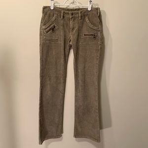 Silver Jeans tan cords great condition